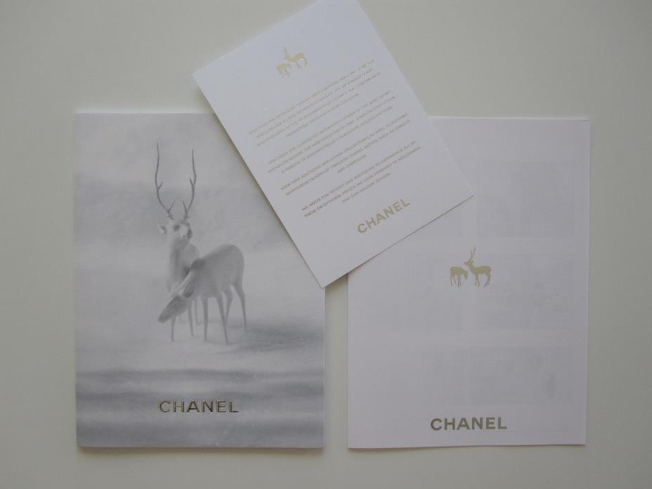 CHANEL Fine Jewelry Watches Coffee Table Book Catalog Magazine Winter NEW VIP