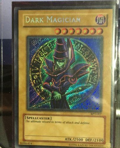 Yugioh Dark Magician BPT-007 Secret Rare