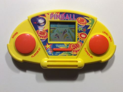 Vintage Tiger Electronics Small  Pinball Hand held video game 1991 1992.