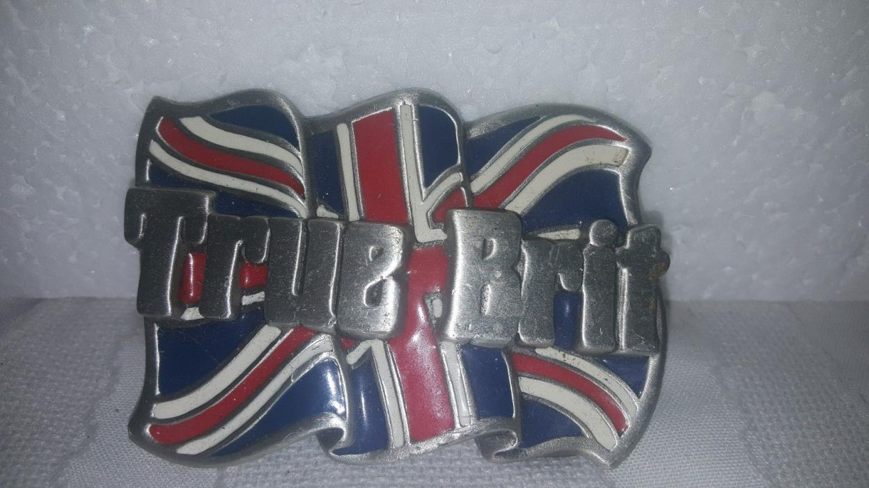 TRUE BRIT BELT BUCKLE - THE DRAGON COLLECTION - TANSIDE ENGLAND