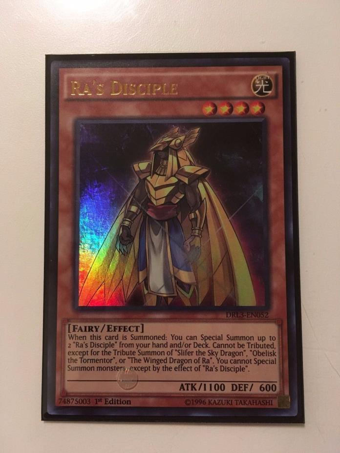 Yugioh Ra's Disciple DRL3-En052