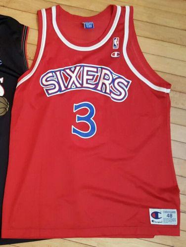 Champion jersey Allen Iverson Rookie size 48