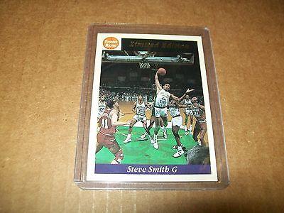 1991 Front Row Basketball Steve Smith Promo Card