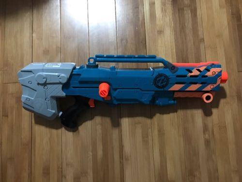 Nerf Zombie Strike Longshot CS-6 Rare Blaster N-Strike
