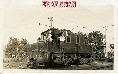 6H897 RP 1940s AROOSTOOK VALLEY RAILROAD LOCOMOTIVE #54