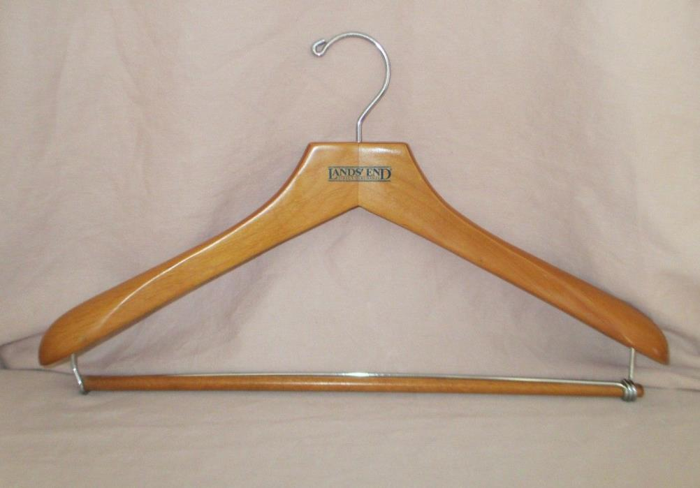 Lands' End Direct Merchant Suit Wood Hanger
