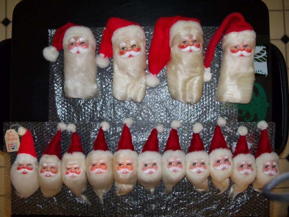 HAROLD GALE SANTA VINTAGE DOLL STORE DISPLAY CHRISTMAS TREE HOLIDAY ORNAMENTS 15