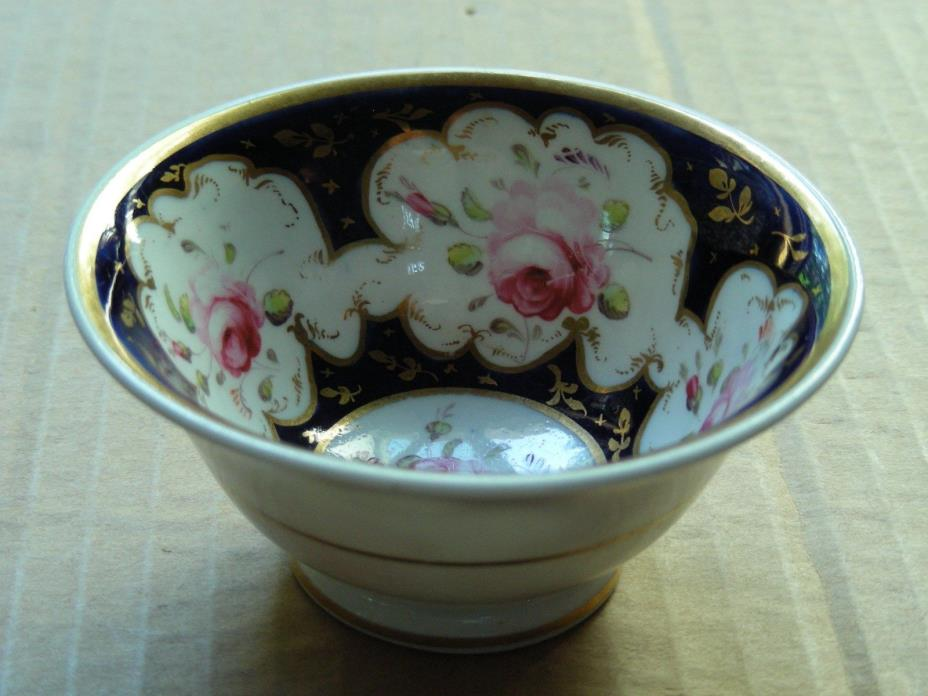 SMALL FLORAL ROSES PORCELAIN BOWL
