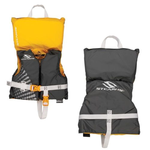 Stearns Infant Classic Nylon Vest Life jacket - Up to 30lbs - Gold Rush [3000002