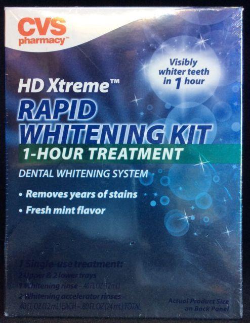 HD Xtreme Rapid Whitening Kit 1 Hour Dental Whitening
