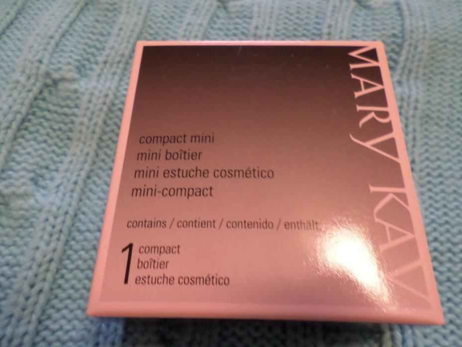 NEW mary kay mini compact, NIB, unfilled ~ BRAND NEW