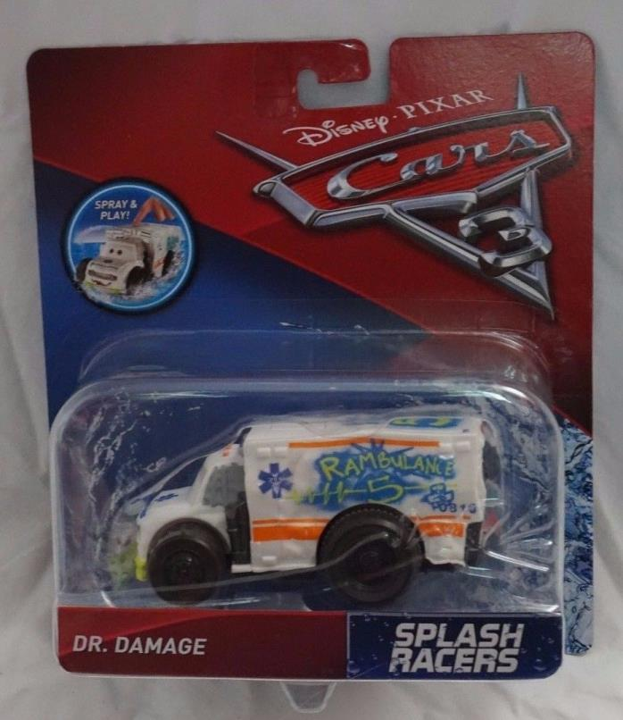 Disney Pixar Cars 3 Splash Racers Dr. Damage NEW Mattel 2017