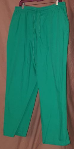 Jaylyn Scrub Pants Green Size 2XL Tie Waist