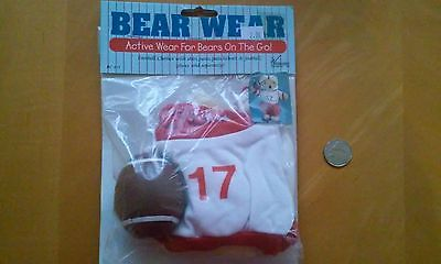 Bear Wear, Active Wear for Bears, Football Clothes, Fits any 12