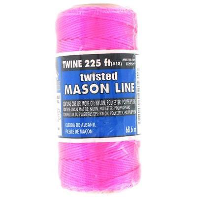 Neon Pink Nylon Seine Twine, 225' The Lehigh Group Twine NST1814PHD 071514027616