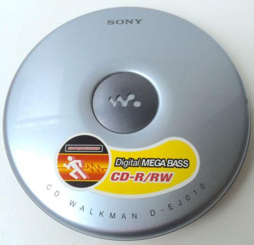 Sony CD Walkman Personal Player D-EJ010 TESTED & WORKING! CD-R/RW
