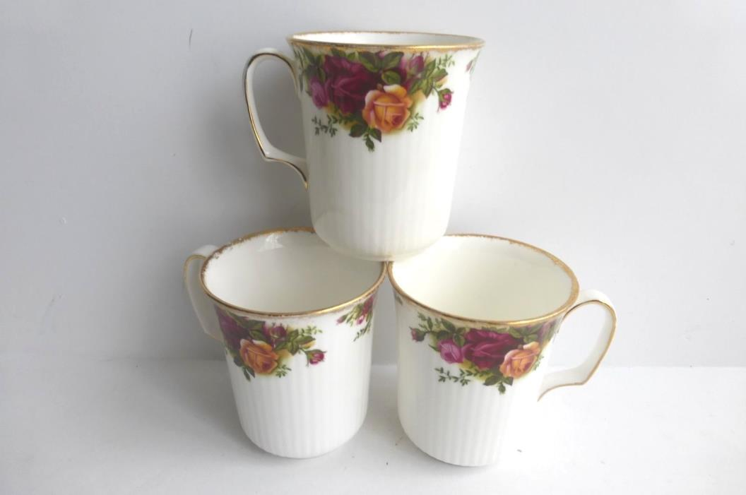 Royal Albert Old Country Roses Afternoon Tea Cups (3)
