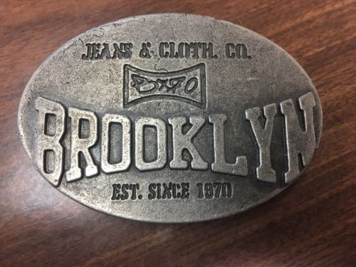 Brooklyn Jean & Cloth Co. Belt Buckle #17
