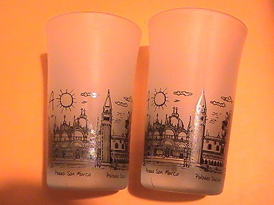 New 2 Shot Glasses Venezia
