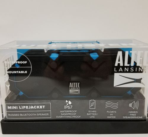 Altec Lansing iMW577 Life Jacket 2 Bluetooth Wireless Speaker, Blue NEW SEALED