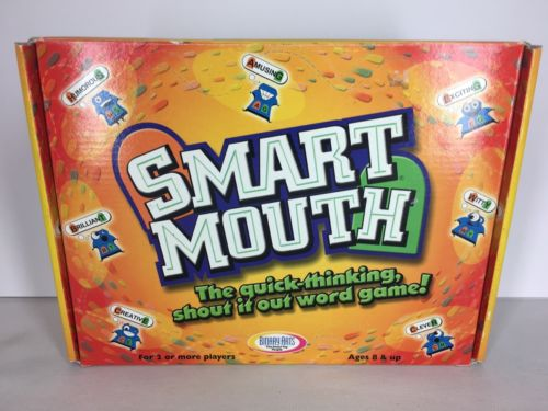 Smart Mouth Game Complete Ages 8 And Up For 2 Or More Players BinaryArts