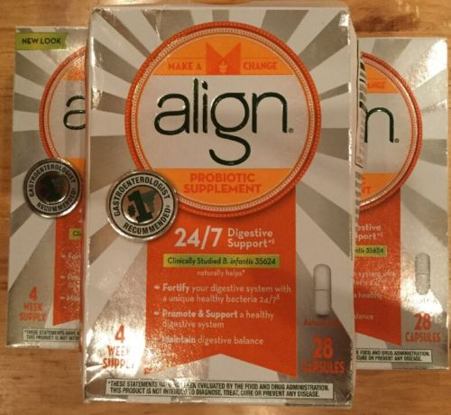 Align Digestive Care Probiotic Supplement 28 Capsules FREE SHIPPING!!!  2E