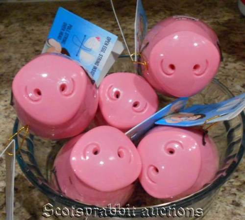 NEW SEALED Hard Plastic GOT YOUR NOSE PIG Candy Dispensers Good till 2019