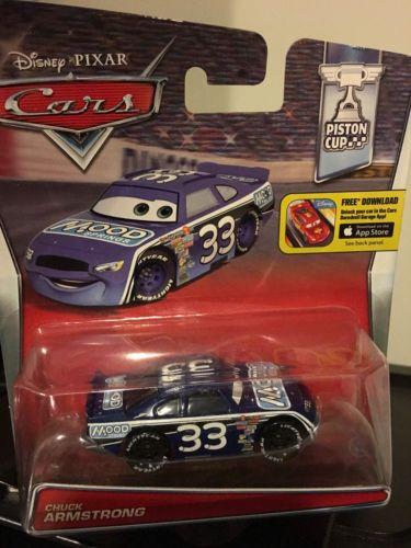 Disney Cars Piston Cup Chuck Armstrong race car