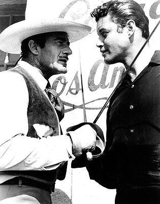 Gilbert Roland, Guy Williams - Zorro   -  8 1/2 X 11