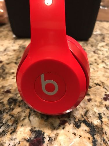 Pre-owned Beats by Dr. Dre Solo2 Red On Ear Headphones MH8Y2AM/A