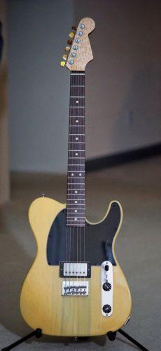 Warmoth Fender Telecaster Esquire Korina DiMarzio USA American Made