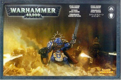 Warhammer 40K Space Marine Commander Kit