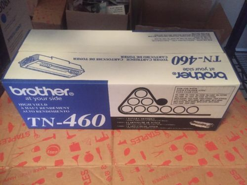 Brother TN460 TN-460 High-Yield Toner Black