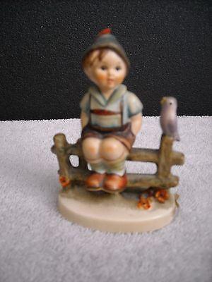 Hummel Figurine 1938 Wayside Harmony Boy On Fence