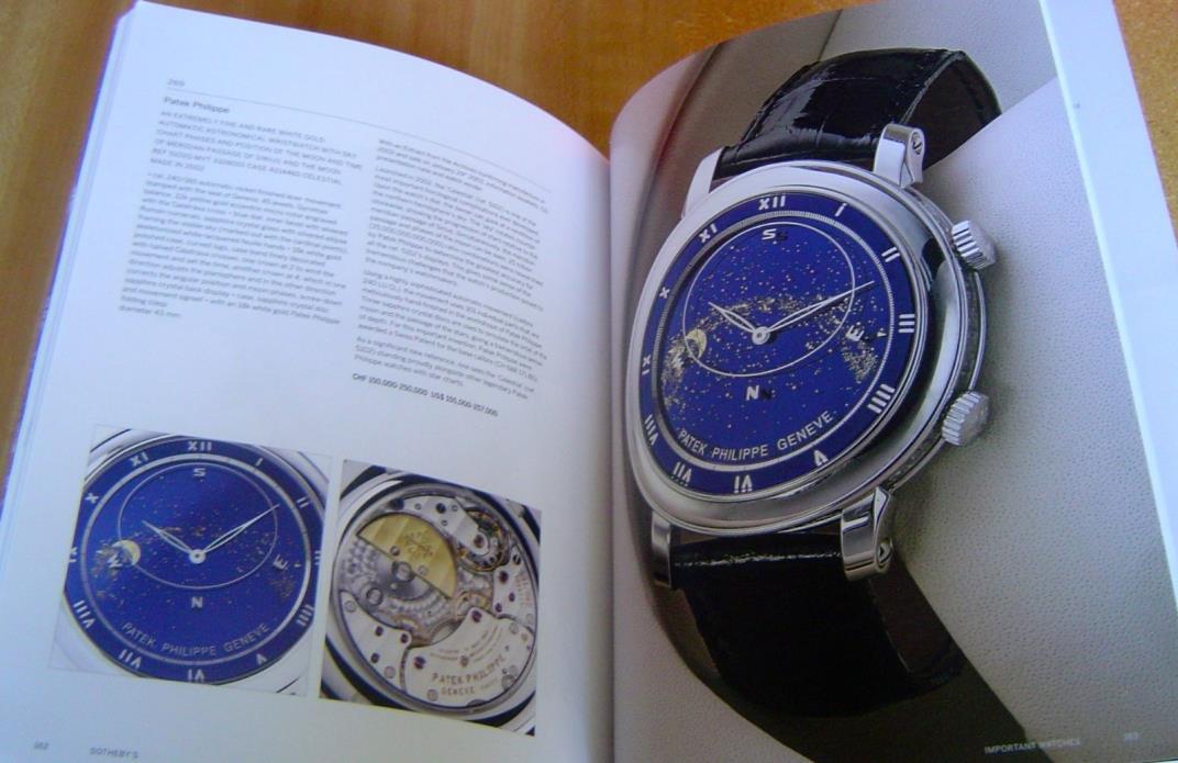 SOTHEBY'S GENEVA IMPORTANT WATCHES CLOCKS Patek Philippe Rolex Vacheron ~ 2016