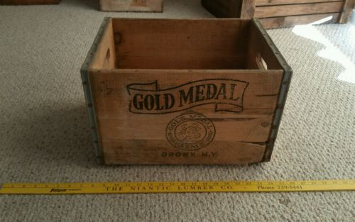 Gold Medal Farms crate