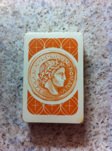 1964 Roman X The Game Of The Ceasars 54 Playing Card Deck Only - Brand New
