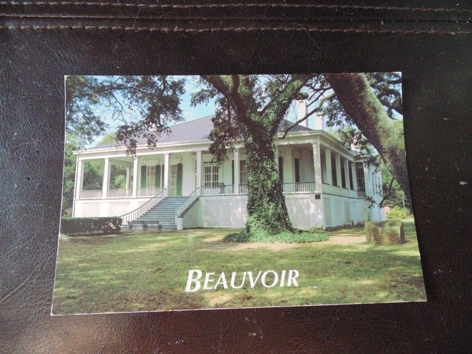 Beauvoir, Biloxi, Mississippi postcard