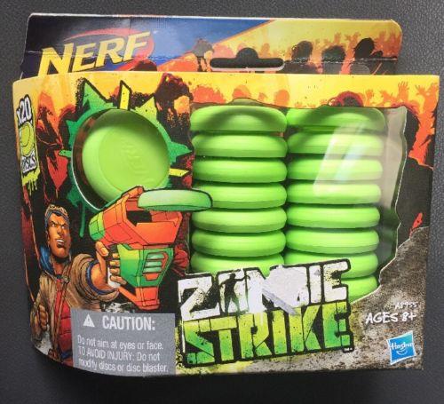 NERF Zombie Strike 20 Disc Refill
