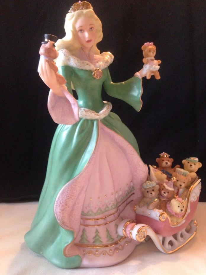 Lennox Isabella 2007 Christmas Princess Porcelain figurine