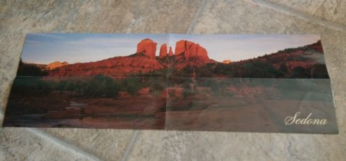 Sedona Puzzle Panoramic Jigsaw Red Rock Arizona 500 Pieces  12 x 36