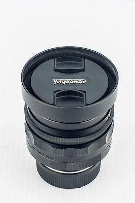 Mint Voigtlander Nokton 50mm f1.1 Manual Prime Lens With Leica M Mount