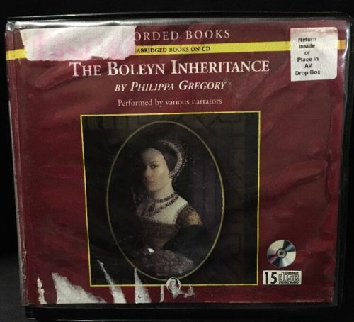 The Boleyn Inheritance Tudor #3 by Philippa Gregory Unabridged 15 Audio CDs