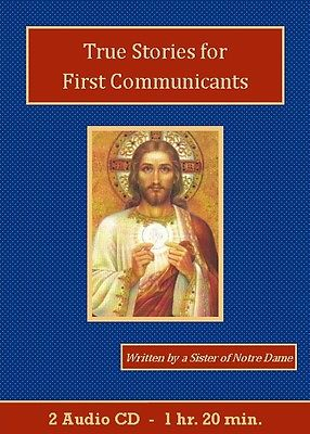 True Stories for First Communicants Catholic Children's Audiobook CD Set