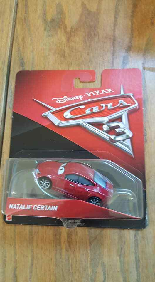 Natalie Certain Disney Pixar Cars 3 NEW