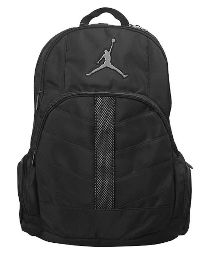New Nike Air Jordan Mens Jumpman Backpack Bookbag - Grey Gray 23 basketball