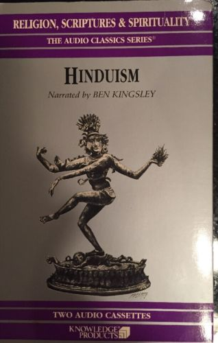 Hinduism Narrated By Ben Kingsley Audio Cassettes