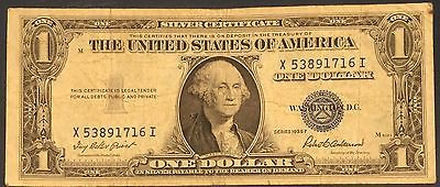1935 F $1 DOLLAR BILL SILVER CERTIFICATE BLUE SEAL NOTE