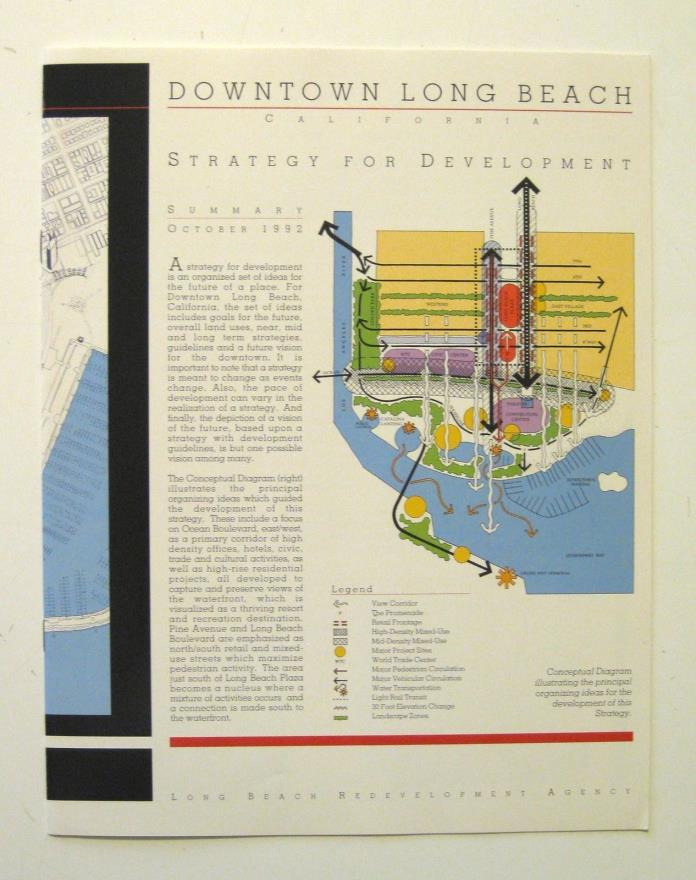 DOWNTOWN LONG BEACH 1992 Development Plan Design Guidelines URBAN PLANNING
