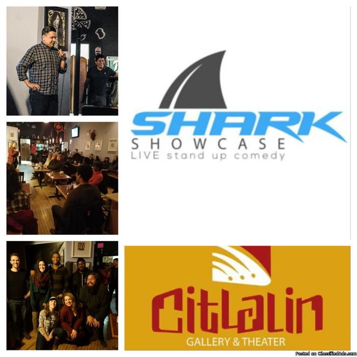 SHARK SHOWCASE live stand up comedy in Pilsen! 5/11/17